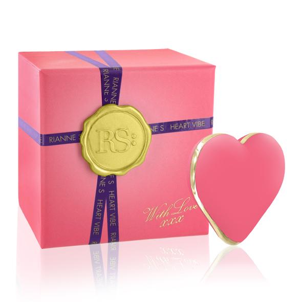 Rianne S Heart Vibe French Rose - Vibrátor ve tvaru srdíčka