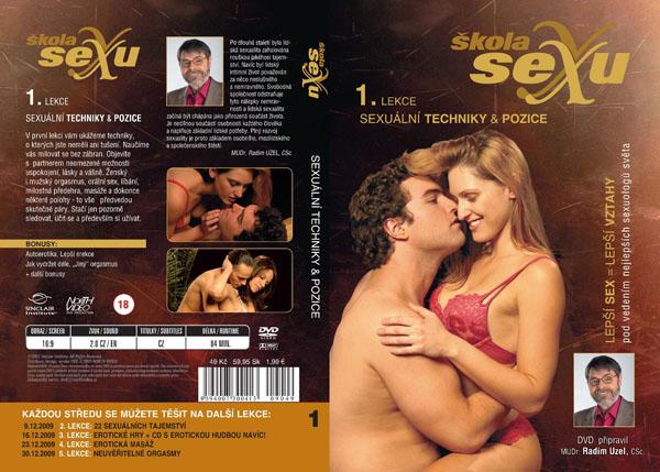 Škola sexu 1. lekce sexuální techniky a pozice - erotický film na DVD