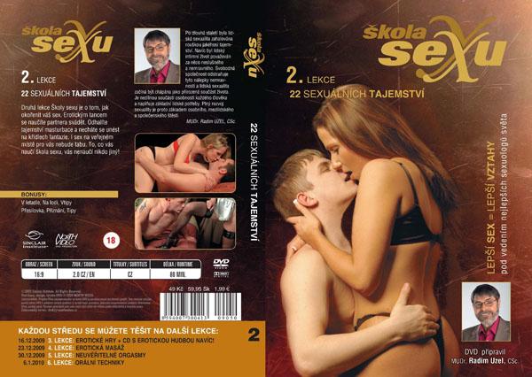 Škola sexu 2. lekce 22 sexuálních tajemství - erotický film na DVD