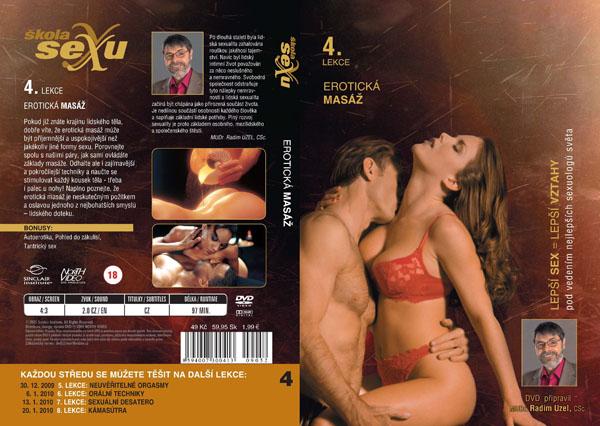 Škola sexu 4. lekce erotická masáž - erotický film na DVD