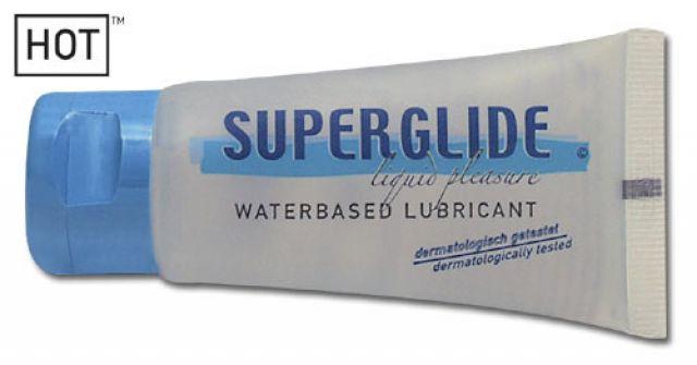 Lubrikační gel HOT - SUPERGLIDE 100 ml