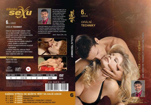 Škola sexu 6. lekce orální techniky - erotický film na DVD
