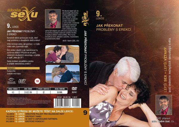 Škola sexu 9. lekce Jak překonat problémy s erekcí - erotický film na DVD