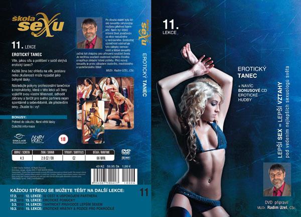 Škola sexu 11. lekce Erotický tanec - erotický film na DVD