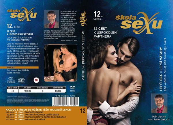 Škola sexu 12. lekce 32 cest k uspokojení partnera - erotický film na DVD
