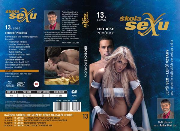 Škola sexu 13. lekce Erotické pomůcky - erotický film na DVD