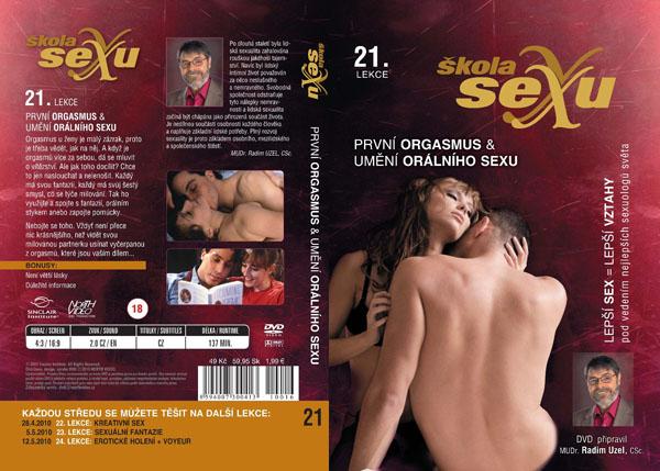 Škola sexu 21. lekce První orgasmus a umění orálního sexu - erotický film na DVD