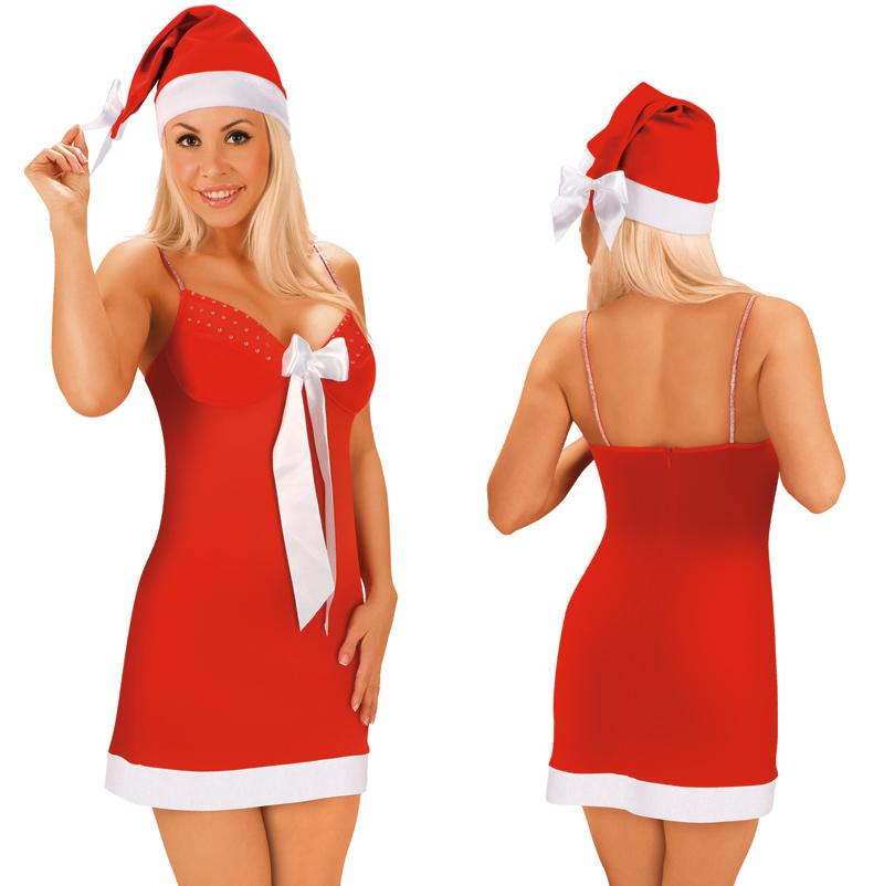 Vánoční sexy košilka -- velikost M
