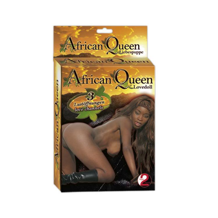 Nafukovací černoška - Africká Královka