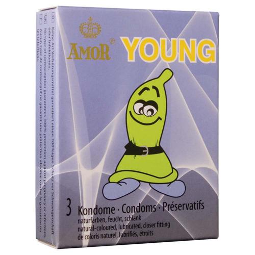 Luxusní kondomy Amor - Young