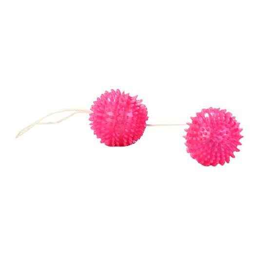 Venušiny kuličky s výstupky - růžové