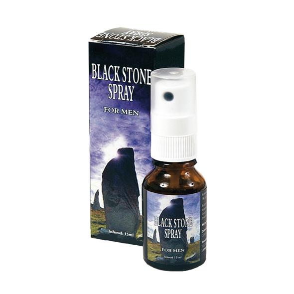 Sprej na oddálení ejakulace - Black stone spray 15 ml