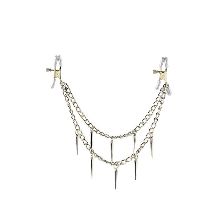 Šperk na bradavky - FETISH Rock Hard Nipple Clamps