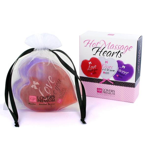 Masážní srdce – HOT Heart Massager 3 ks