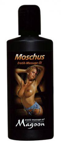 Masážní olej s vůní pižma - střední balení 100ml