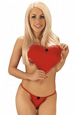 Zamilovaný kostýmek se srdcem - Valentýnský set-univerzální