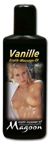 Masážní olej Vanilka - střední balení 100ml